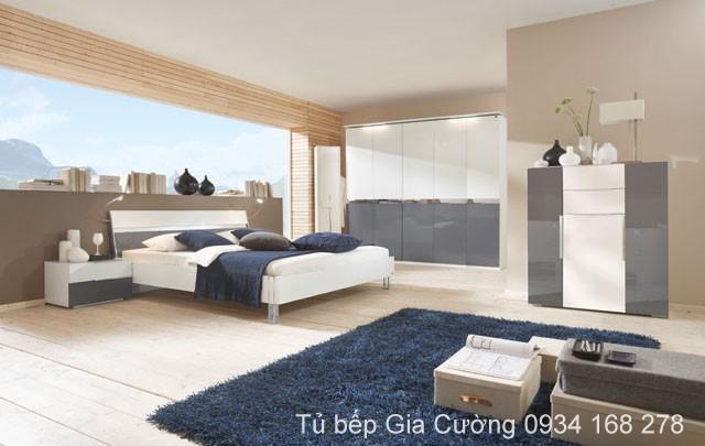 Phòng ngủ vật liệu LK + ARC
