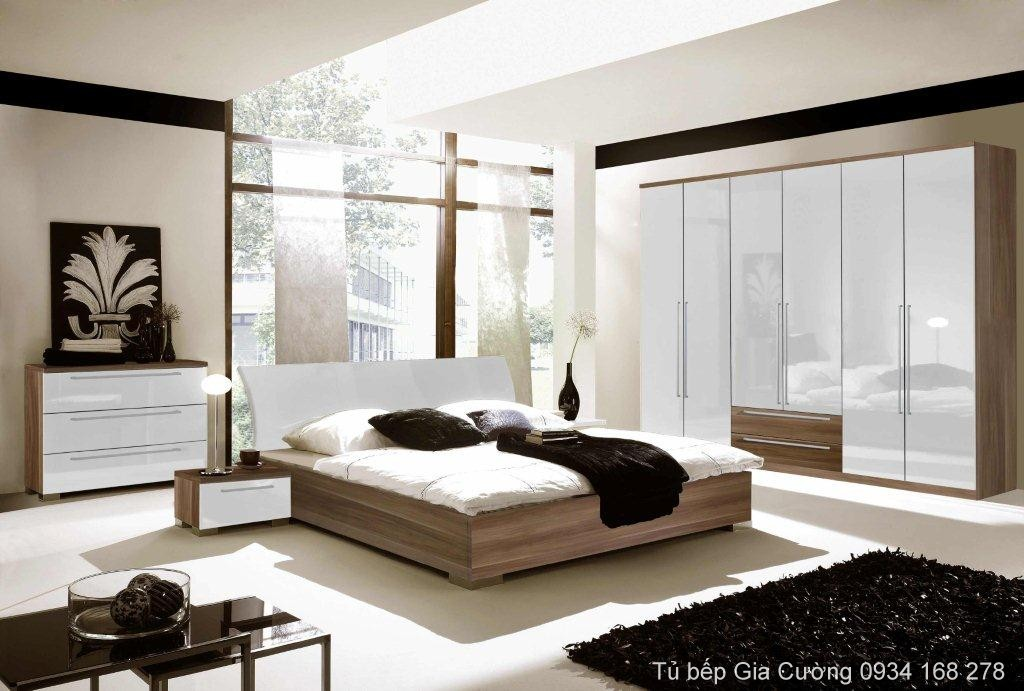Giường và tủ áo Acrylic PARC 11 + MFC 338