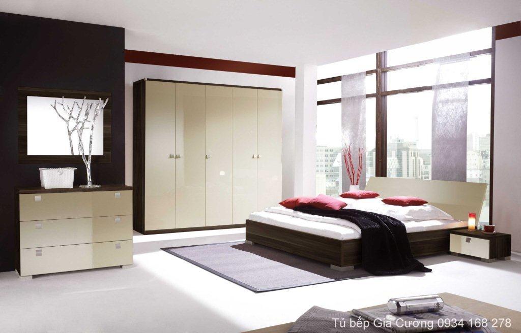 Nội thất phòng ngủ MFC CV809 +Acrylic 01