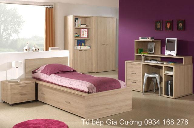 Tủ áo, Giường ngủ Laminate 4775