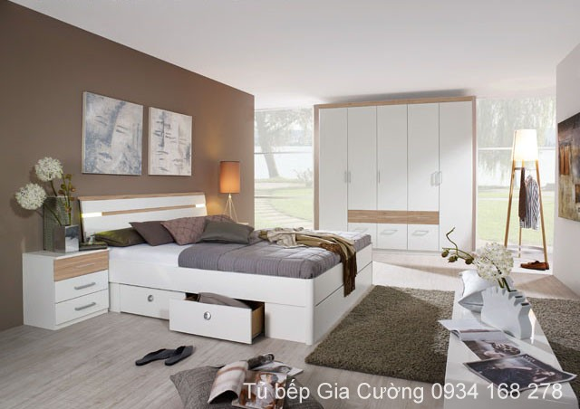 Phòng ngủ  Acrylic PARC 01 + Laminate 996