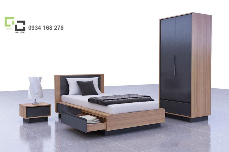 Giường ngủ, tủ áo MFC 234 + 230 + 330