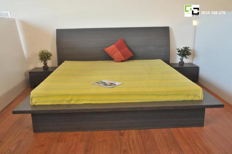 Mẫu giường ngủ kiểu nhật đẹp 01