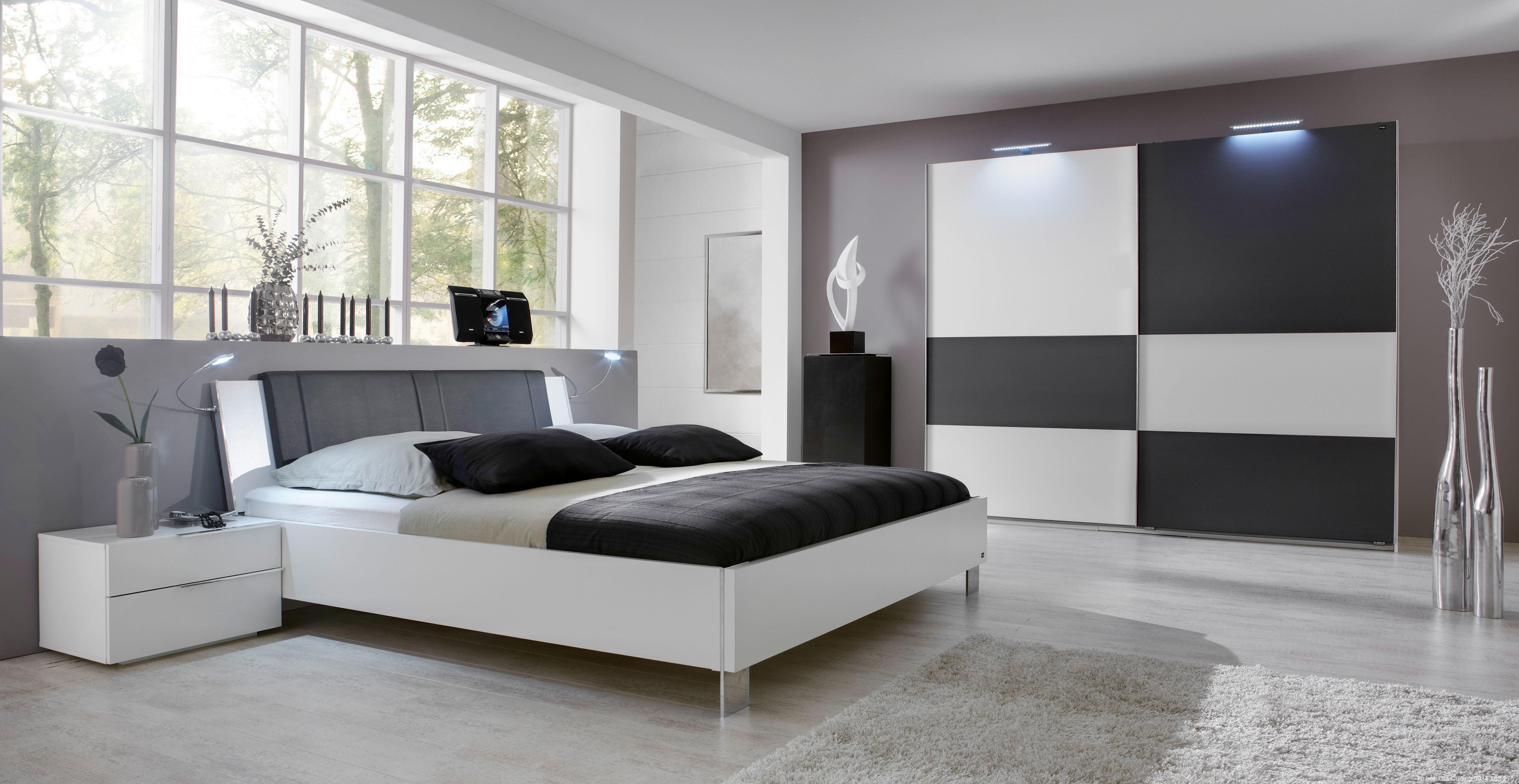 Tủ áo, Giường ngủ Acrylic PARC 01 + 02
