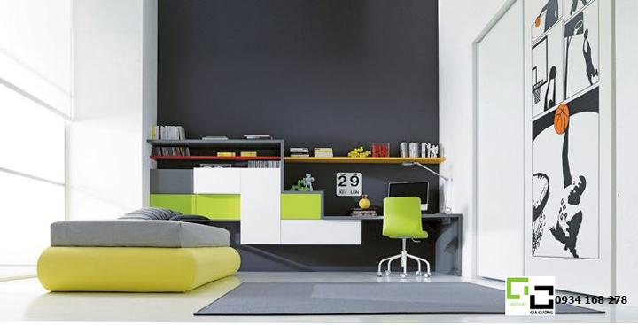 Mẫu nội thất phòng khách đẹp 02