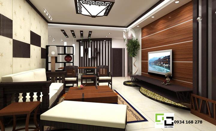Phòng khách hiện đại 05