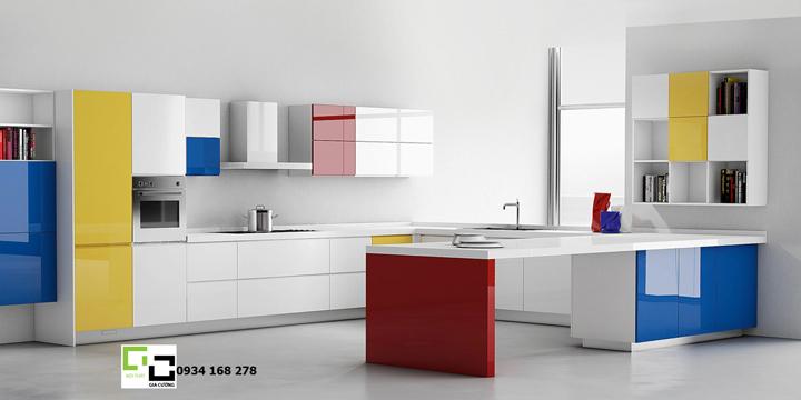 Tủ bếp acrylic hiện đại 67