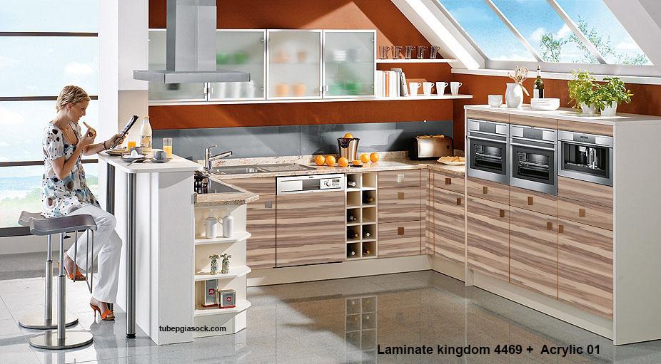 Laminate kingdom 4469 +  Acrylic 01