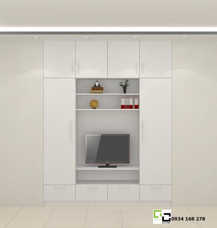 Mẫu tủ áo hiện đại 05