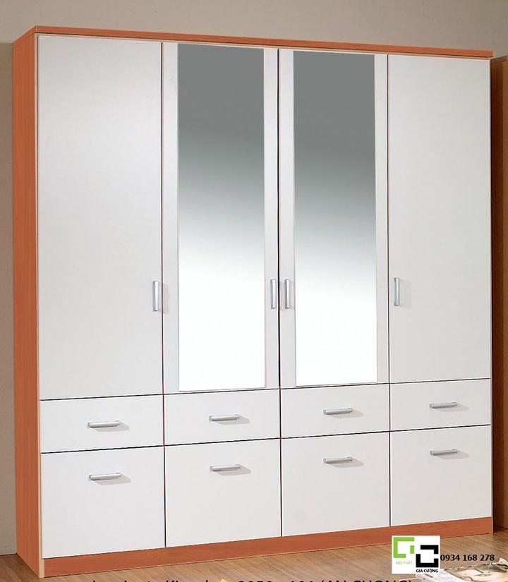 Mẫu tủ áo hiện đại 20