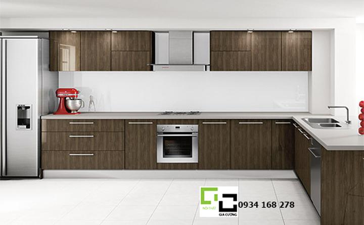 Tủ bếp acrylic hiện đại 02