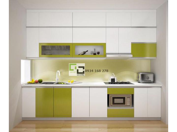 Tủ bếp acrylic hiện đại 04