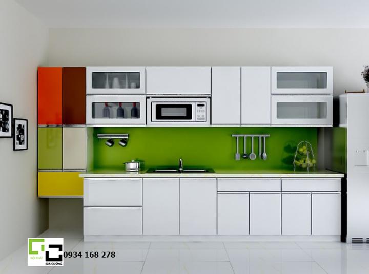 Tủ bếp acrylic hiện đại 06