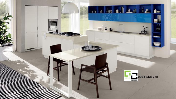 Tủ bếp acrylic hiện đại 08