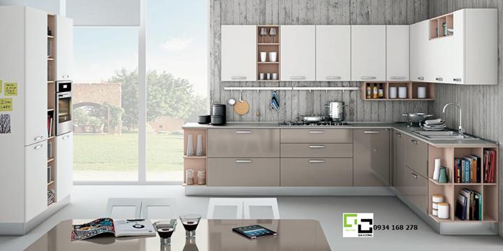 Tủ bếp acrylic hiện đại 10