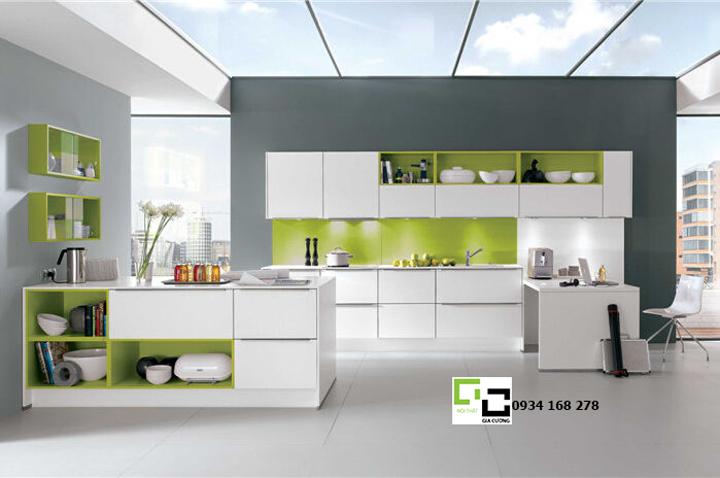 Tủ bếp acrylic hiện đại 11
