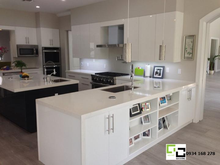 Tủ bếp acrylic hiện đại 16