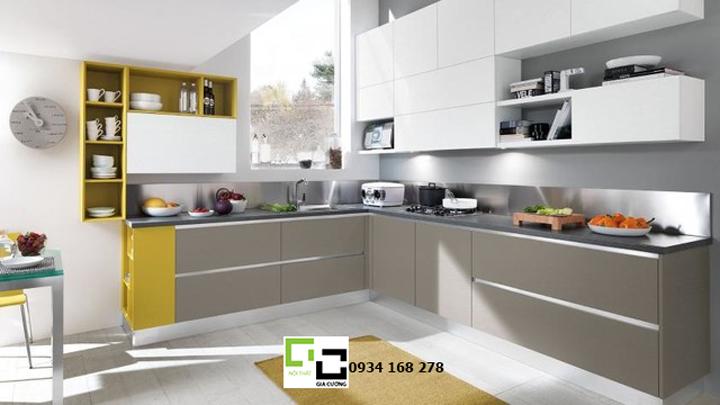 Tủ bếp acrylic hiện đại 17