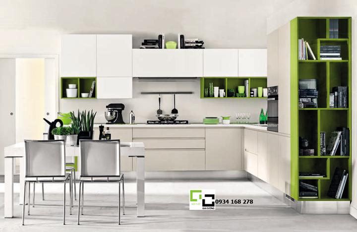 Tủ bếp acrylic hiện đại 21