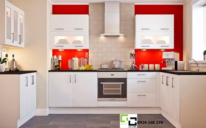 Tủ bếp acrylic hiện đại 22