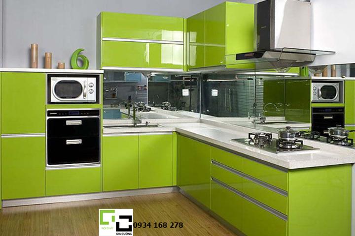 Tủ bếp acrylic hiện đại 26
