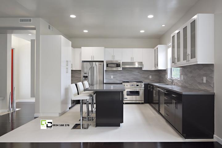 Tủ bếp acrylic hiện đại 27