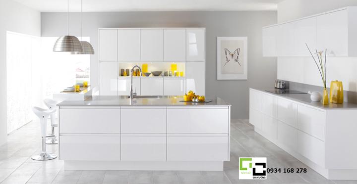 Tủ bếp acrylic hiện đại 28