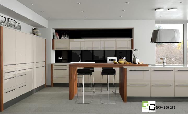 Tủ bếp acrylic hiện đại 29