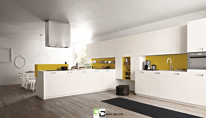 Tủ bếp acrylic hiện đại 30