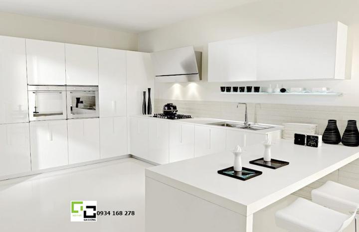 Tủ bếp acrylic hiện đại 31