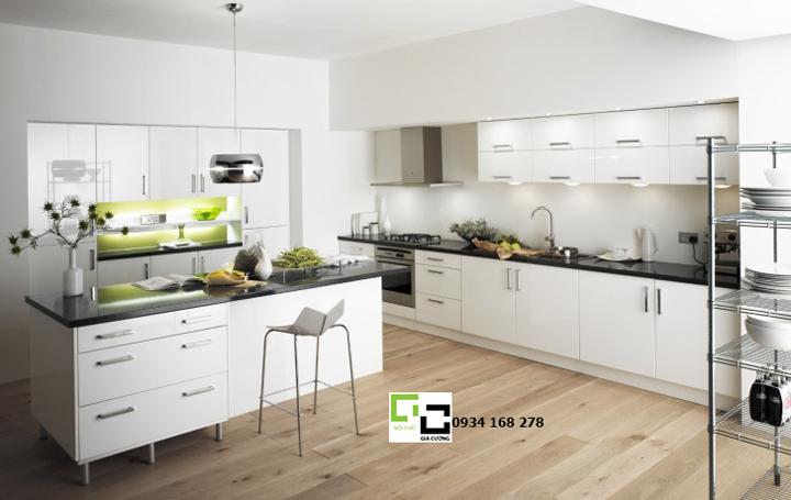 Tủ bếp acrylic hiện đại 32