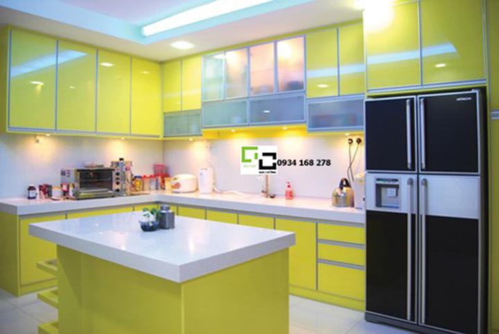 Tủ bếp acrylic hiện đại 33