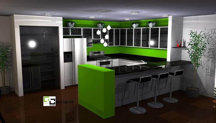 Tủ bếp acrylic hiện đại 35