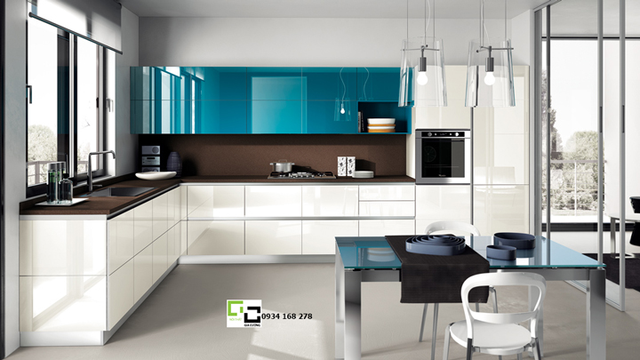 Tủ bếp acrylic hiện đại 41