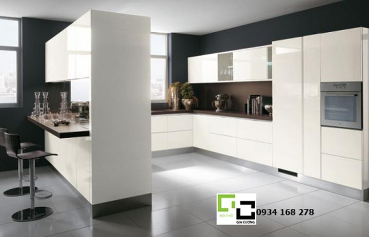 Tủ bếp acrylic hiện đại 42