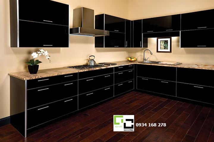 Tủ bếp acrylic hiện đại 45