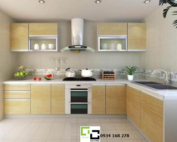 Tủ bếp acrylic hiện đại 46