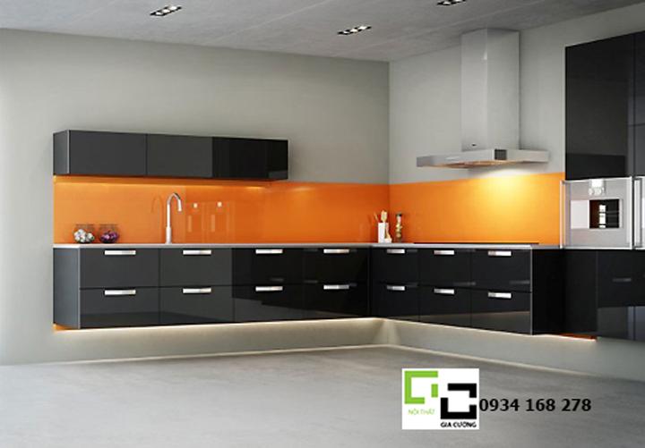 Tủ bếp acrylic hiện đại 48