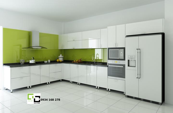 Tủ bếp acrylic hiện đại 51