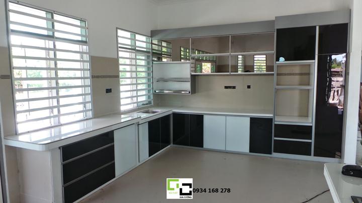 Tủ bếp acrylic hiện đại 56
