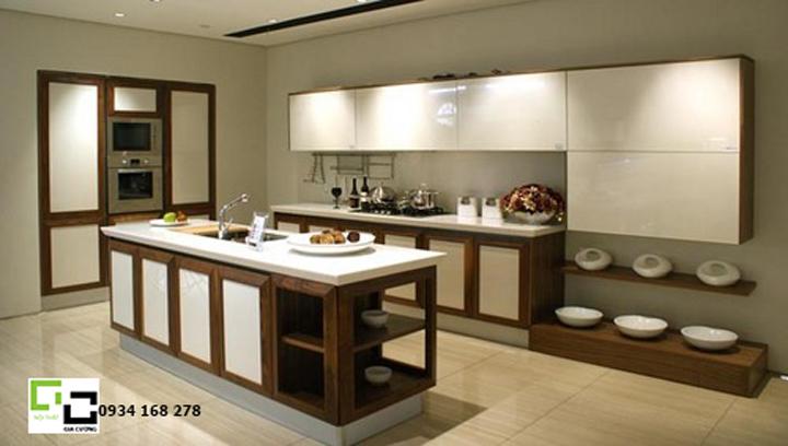 Tủ bếp acrylic hiện đại 59