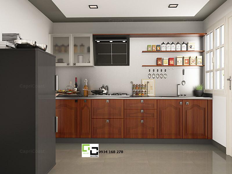 Tủ bếp chữ i 17
