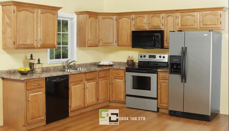 Tủ bếp gỗ tự nhiên 13