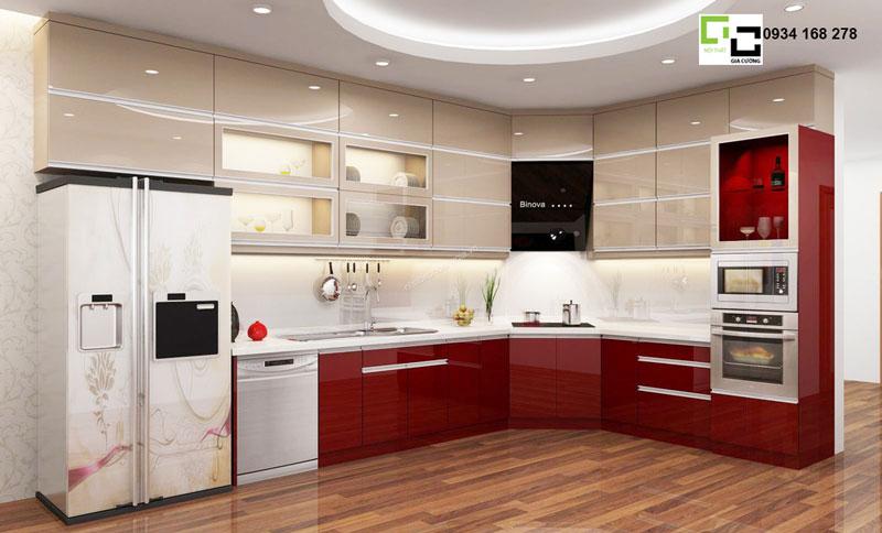 Tủ bếp hiện đại 08