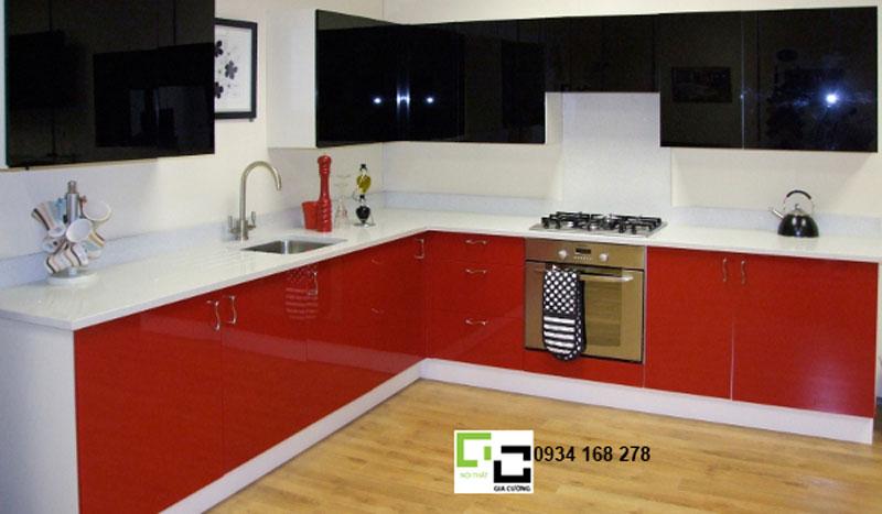 Tủ bếp thiết kế hiện đại 12