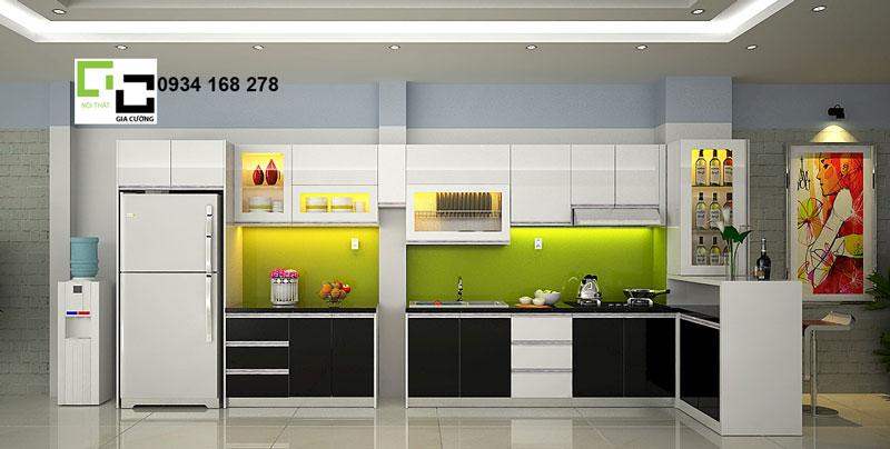 tủ bếp hiện đại 06