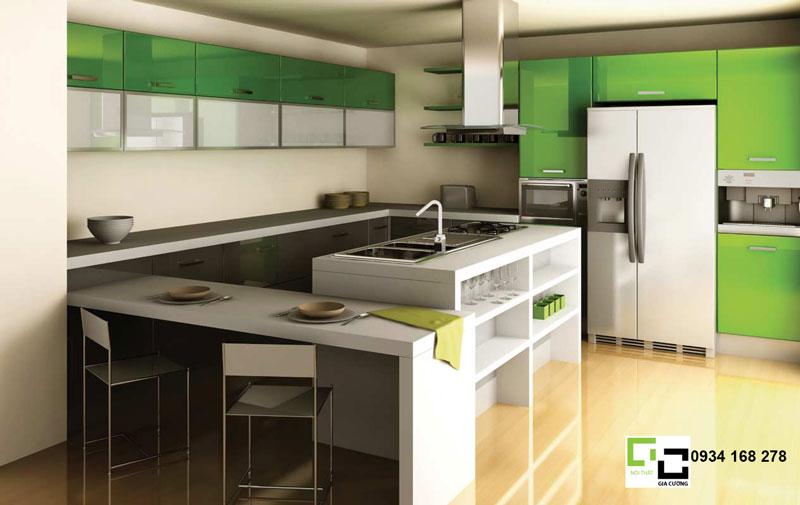 Mẫu thiết kế tủ bếp hiện đại 09