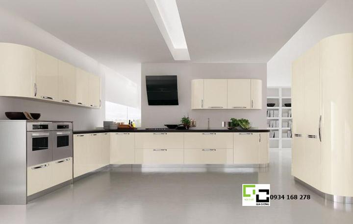 Tủ bếp laminate hiện đại 05