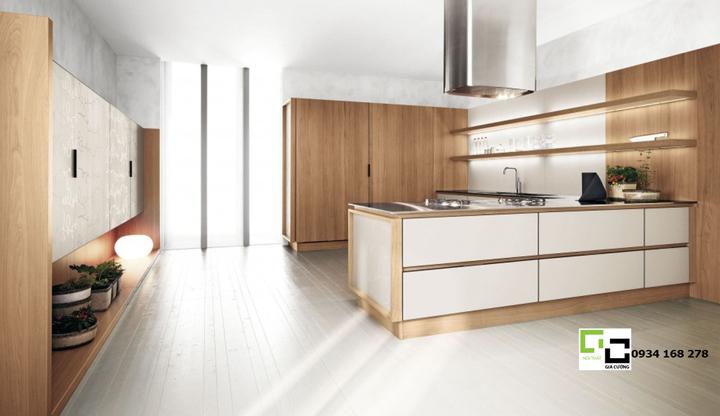 Tủ bếp laminate hiện đại 39