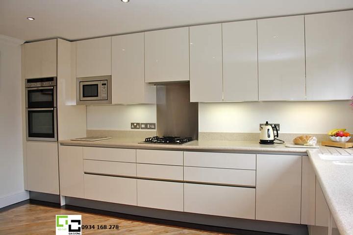 Tủ bếp laminate hiện đại 48